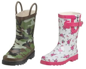 Trendtotting: Rain Boots to Boot