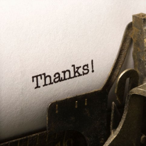 Why You Should Say Thanks