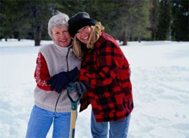 Shovel Snow For Your Neighbor to Burn Extra Calories