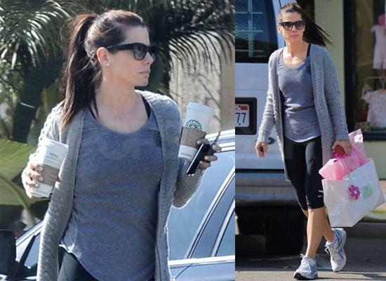 Photos Sandra Bullock Running Errands in LA
