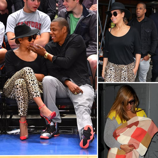 Beyoncé Knowles and Jay-Z Are Loved Up and Adorable at a Knicks Game
