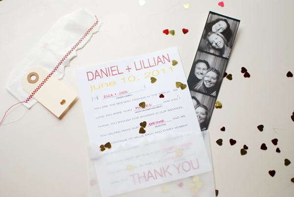 Mad Libs Thank You Card