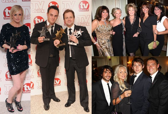 Photos of Kate Walsh, Billie Piper, Ali Bastian, Kaya Scodelario, Lily Loveless Red Carpet 2009 TV Quick TV Choice Award Winners