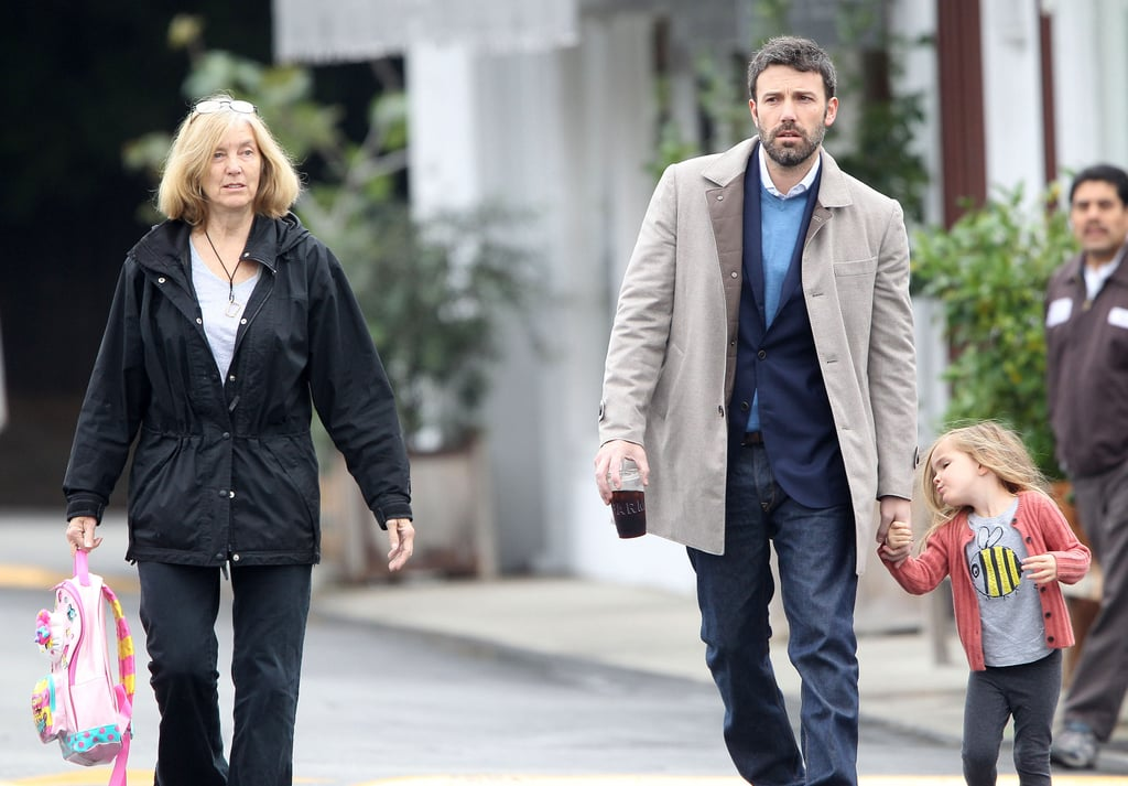 Ben Affleck and Seraphina Affleck joined his mother, Chris Affleck, for a breakfast date in Brentwood, CA, in November.