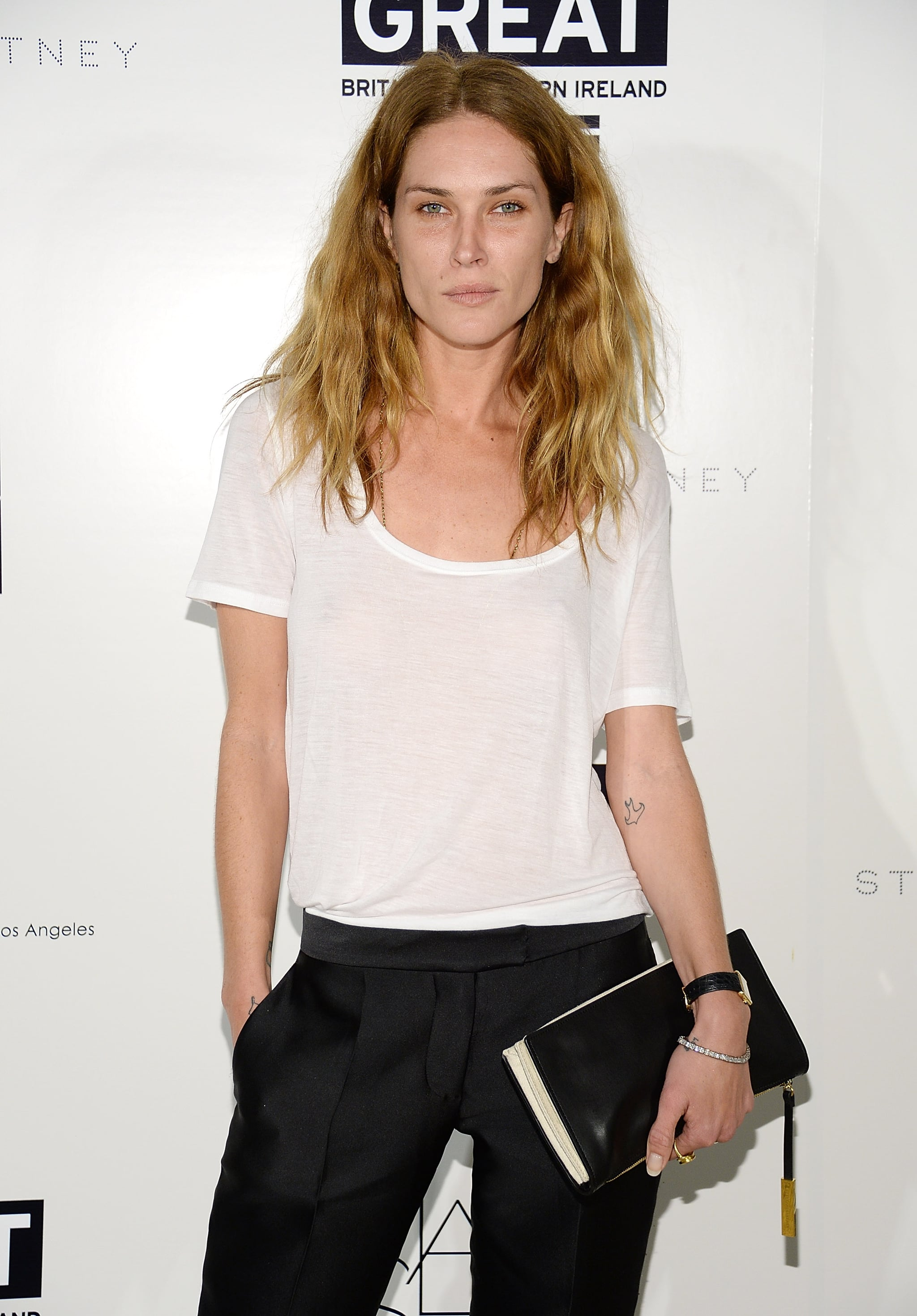 Erin Wasson joined Stella McCartney for the designer's annual Autumn event.