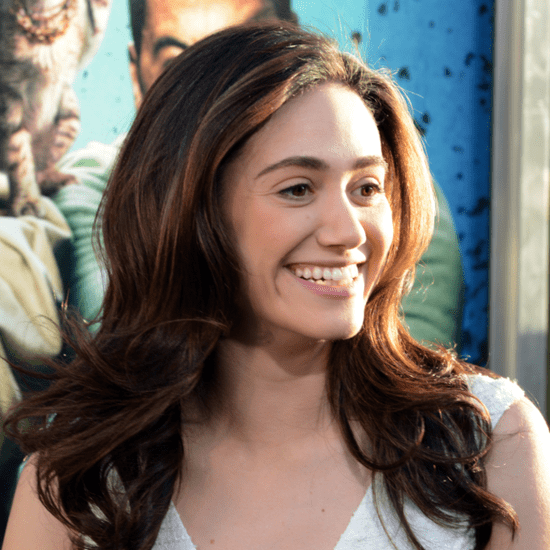 Emmy Rossum's Throwback Skechers Sneakers