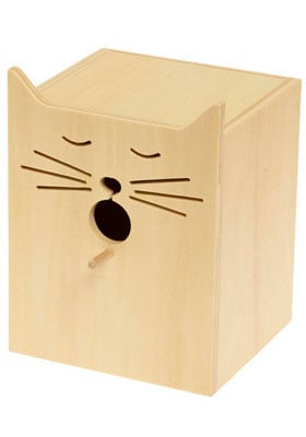 Cat Shaped Bird House
