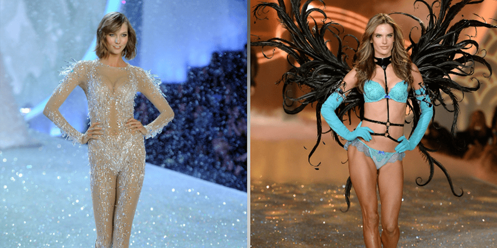 10 Sexiest Moments From the Victoria's Secret Fashion Show
