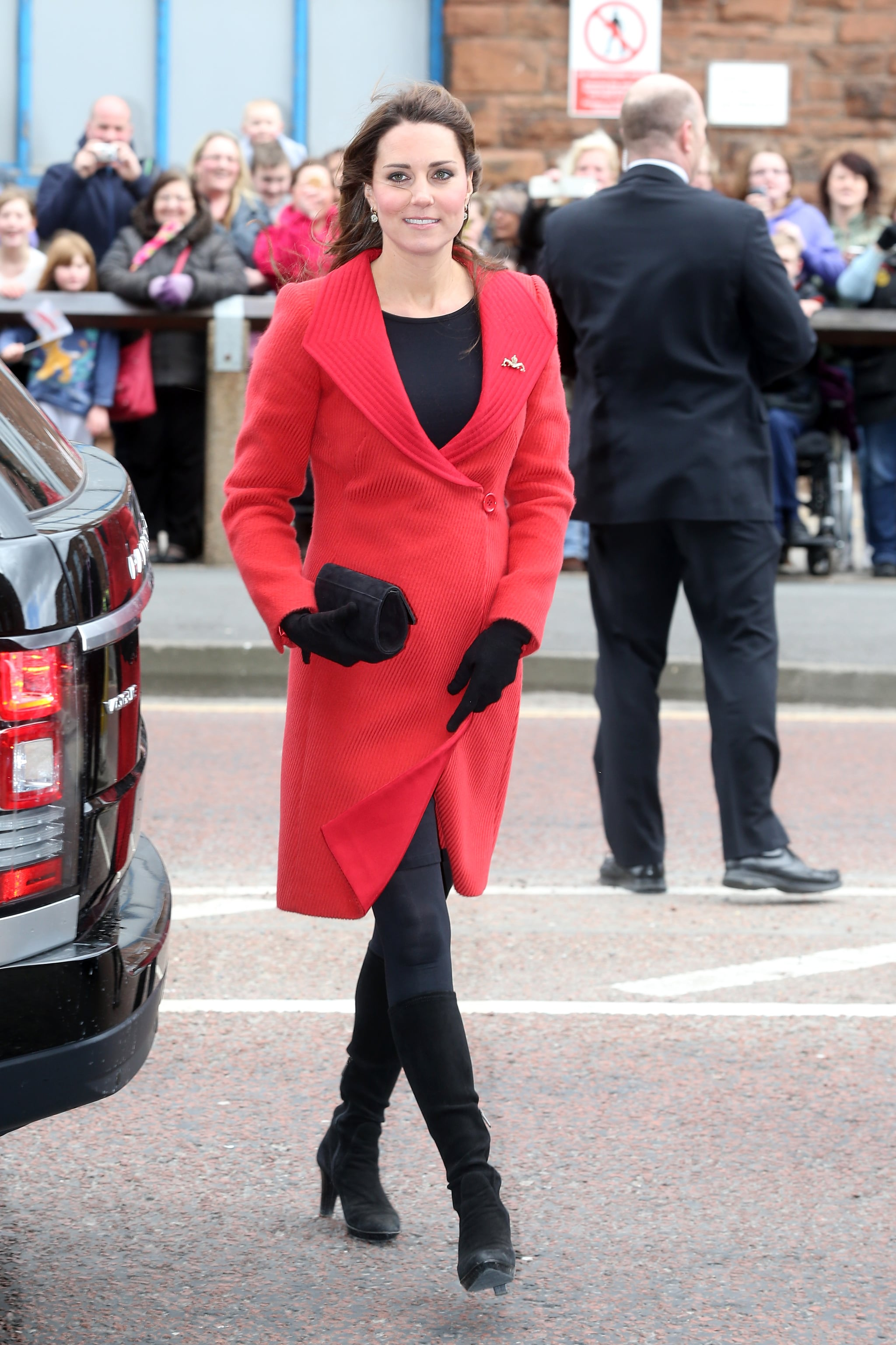 Kate Middleton at the Astute-Class Submarine Building in 2013