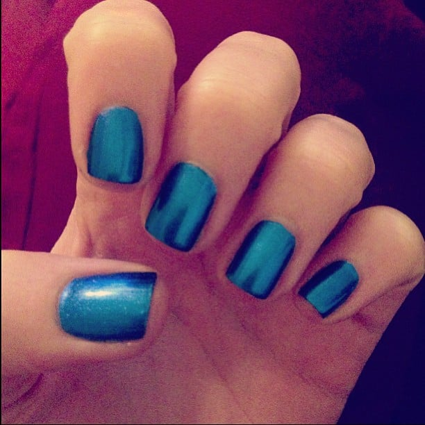 On the nails this week? Chanel Le Vernis in Bel Argus.
