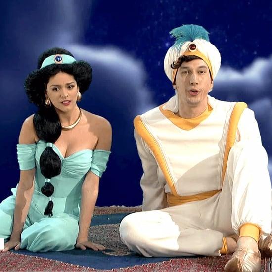 Aladdin Skit With Adam Driver on SNL