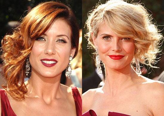 Who Looked Better in a Side Updo at The Emmy Awards?