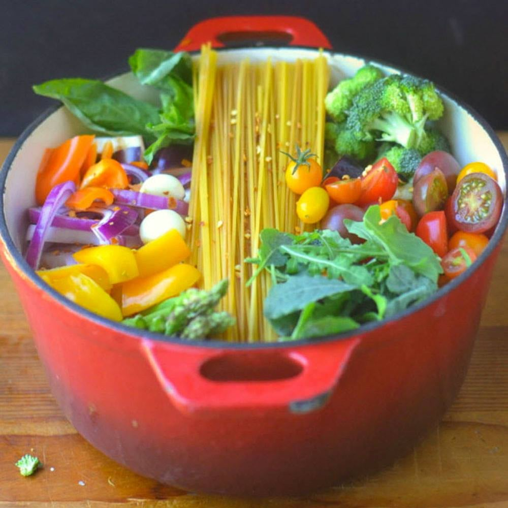 One Pot Farmer's Market Pasta