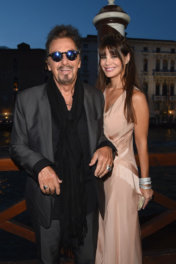 Al Pacino was honored with the Mimmo Rotella Award on Friday.