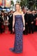 Nicole Kidman went with her go-to red carpet silhouette — the column dress — for the Inside Llewyn Davis premiere. The bold all-over leaf print on her L'Wren Scott gown proved dynamic enough that the actress could keep her accessories minimal with matching Fred Leighton iron and gold wrist cuffs.