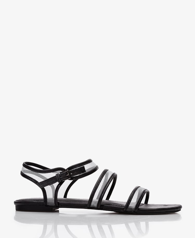 Flash your sporty side with these mesh Forever 21 sandals ($15).