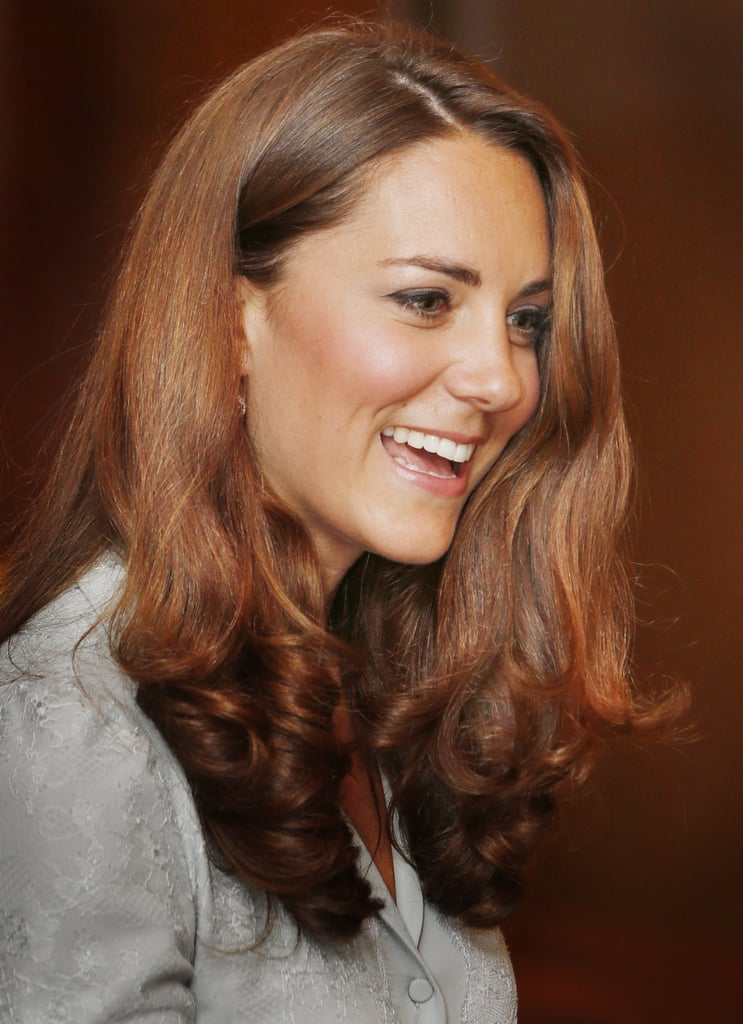 Kate Middleton had a smile on her face while visiting Kuala Lampur in Malaysia.