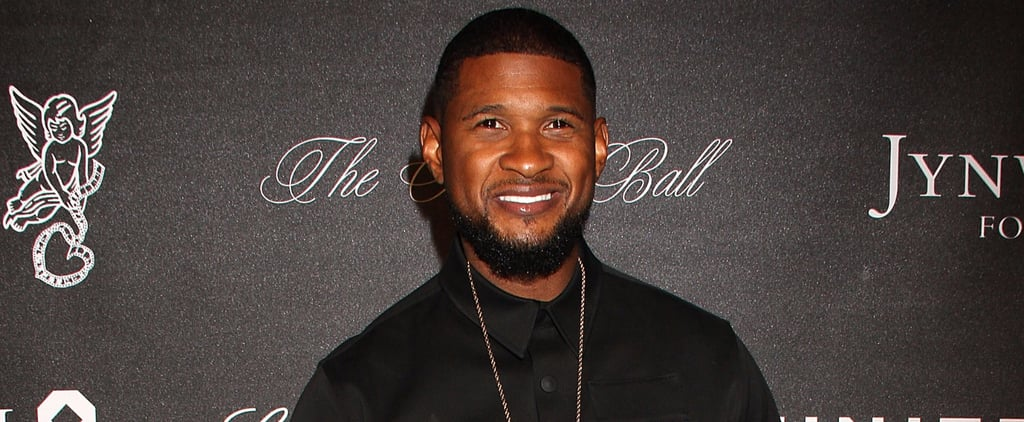 Usher Has a Photo Shoot on Snapchat Wearing Nothing but His Birthday Suit