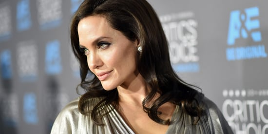 Angelina Jolie's Silver Critics' Choice Awards Dress Is A Thing Of Beauty