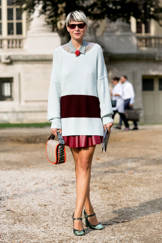 Elisa Nalin did preppy-cum-ladylike, with just the right amount of whimsy.