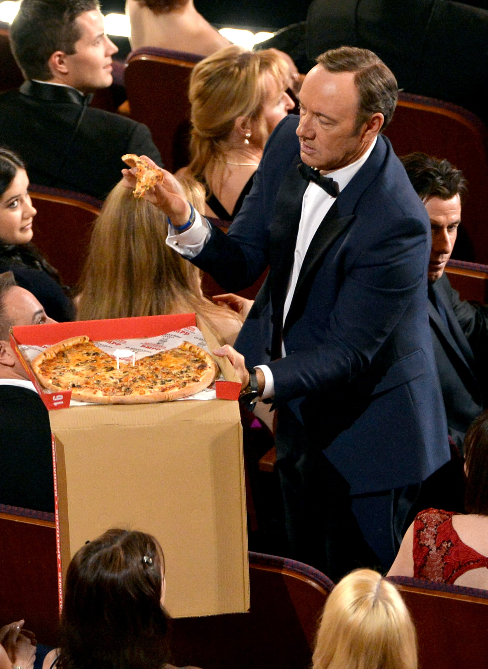 Best Pizza Passing in a Tuxedo: Kevin Spacey
