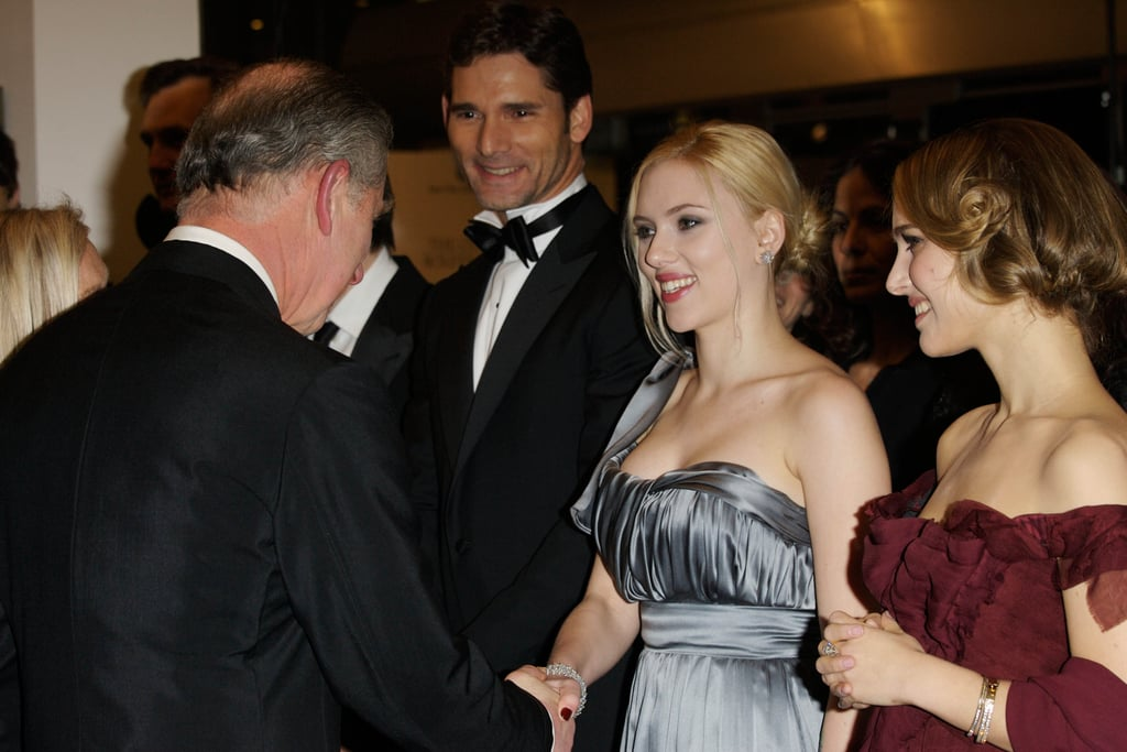 Prince Charles, Eric Bana, Scarlett Johansson, and Natalie Portman