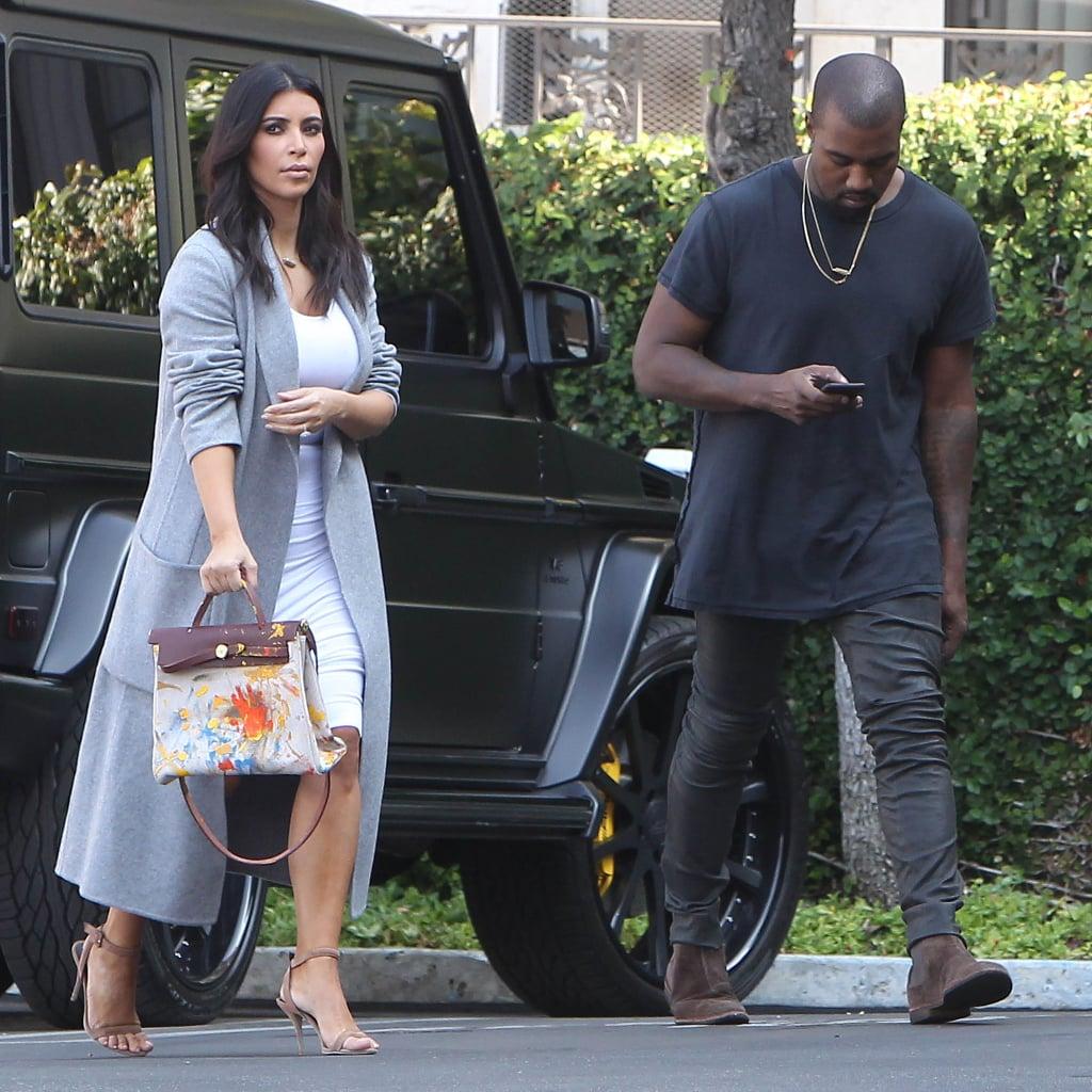 Kanye West gifts Kim Kardashian ugly Hermes bag