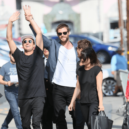 Chris Hemsworth Out in LA April 2016
