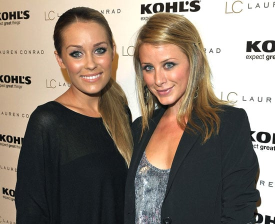 Slide Photo of Lauren Conrad and Lauren Bosworth at Kohl's Launch Party