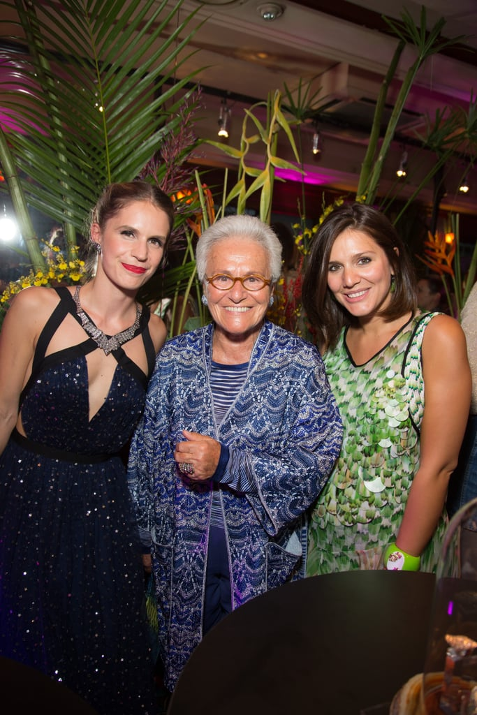 Rosita and Margherita Missoni joined Eugenie Niarchos to fete her first jewelry collection in Paris.