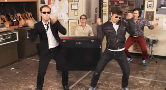 """Hanson Music Video For """"Thinkin' Bout Something"""" 2010-04-15 11:30:00"""