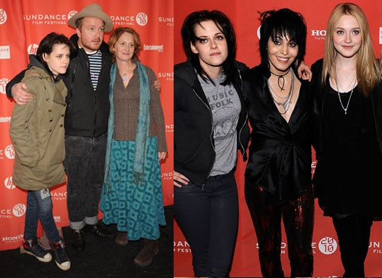 Photos of Kristen Stewart and Dakota Fanning at The Runaways Premiere and Welcome to the Rileys at Sundance Film Festival