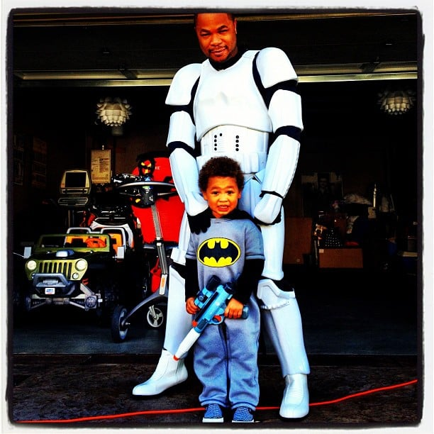 Storm Trooper and Batman