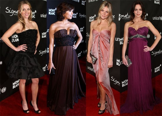 Photos of Reese Witherspoon, Eva Longoria, Sienna Miller, Emily Blunt at the Montblanc Signature for Good Charity Initiatve.