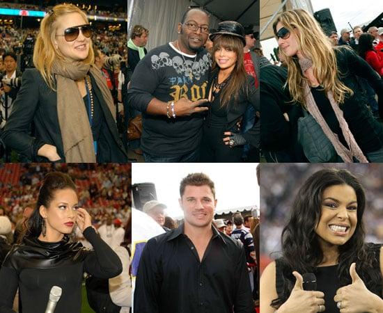 Celebrities & QB Girlfriends Watch Giants Win Super Bowl XLII