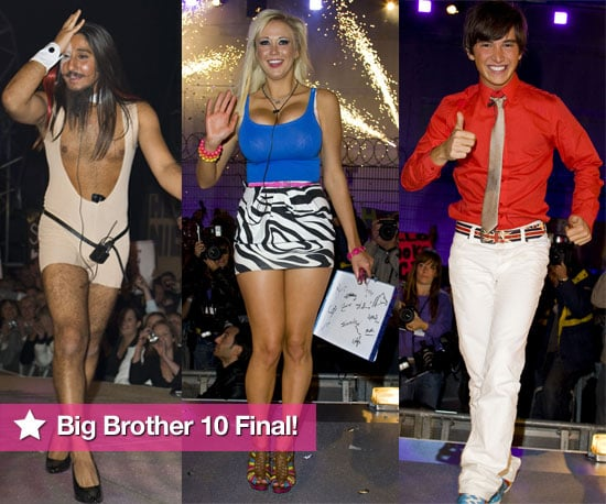 Many Photos From Big Brother 10 Final With Davina McCall, And The Winner Sophie Reade