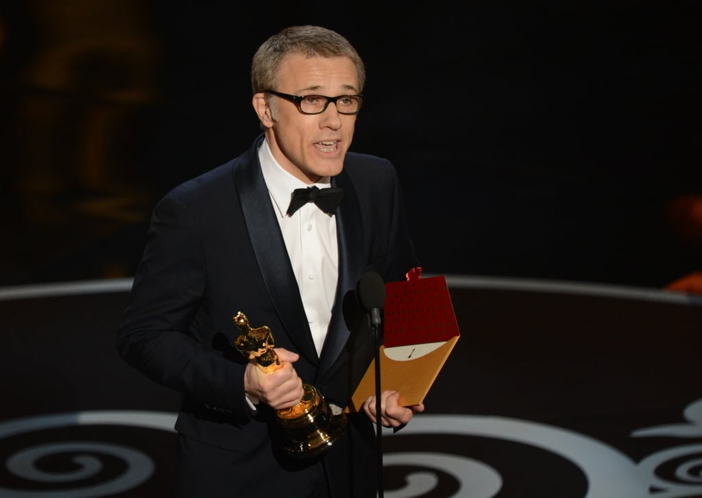 Christoph Waltz Wins For Best Supporting Actor