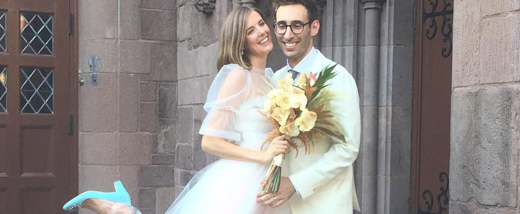 This Model's Sweet, Sheer Wedding Dress Is the Opposite of Traditional, and That's Why We're Crazy About It