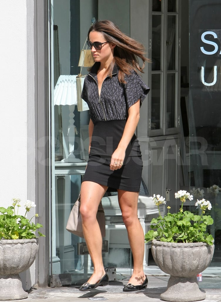 Pippa Middleton commutes to work.