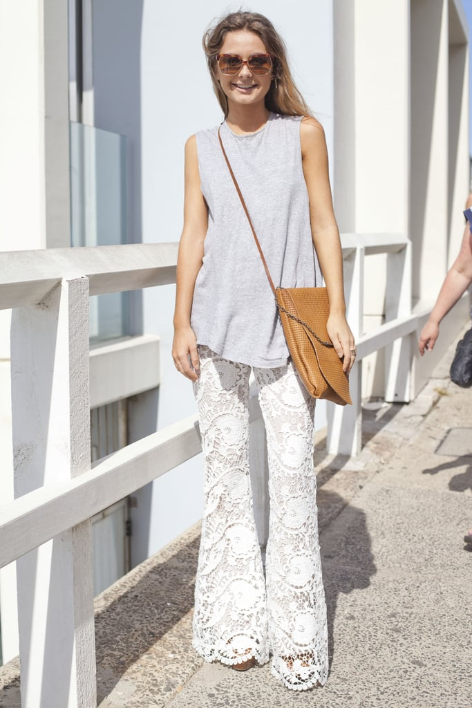 Embrace this Summer's '70s trend with a cool pair of bell-bottoms.