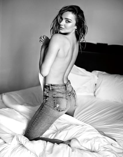 Miranda Kerr Poses Topless for 7 For All Mankind Campaign: See the Sexy Pictures