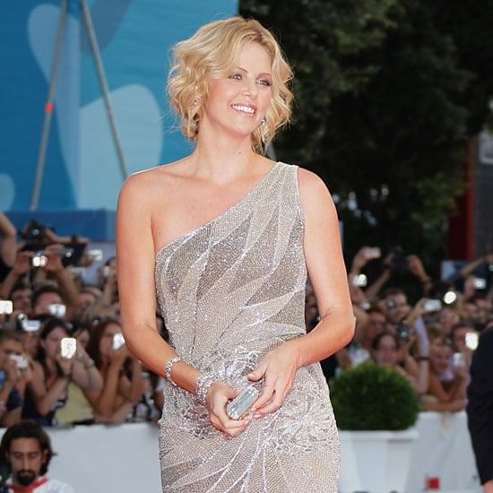 Photo of Charlize Theron at The Burning Plain Premiere at Venice Film Fesitval