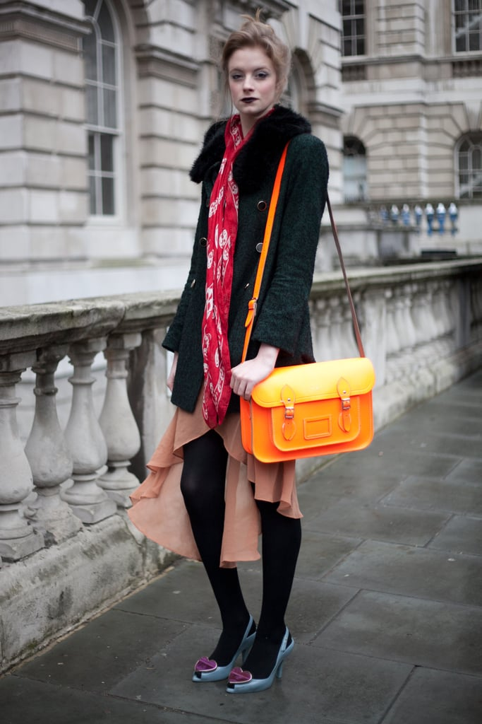 London Fashion Week Street Style Fall 2012