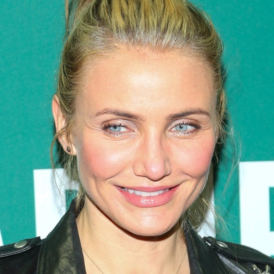 Cameron Diaz Casual Makeup 2014