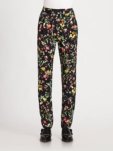 3.1 Phillip Lim Botanical-Print Silk Pants