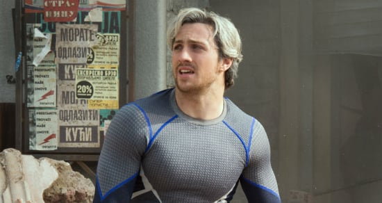 'Avengers: Age of Ultron' Star Aaron Taylor-Johnson Doesn't Feel 'Threatened' by the Other Quicksilver