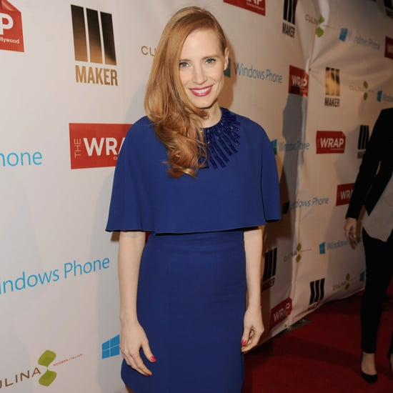 Jessica Chastain at TheWrap Pre-Oscar Party in LA