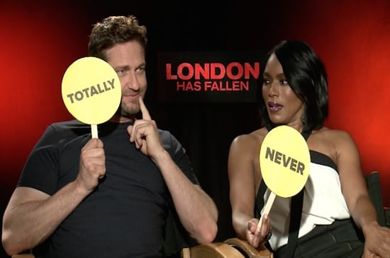 """Gerard Butler And Angela Bassett Played The Most Hilarious Round Of """"Never Have I Ever"""""""