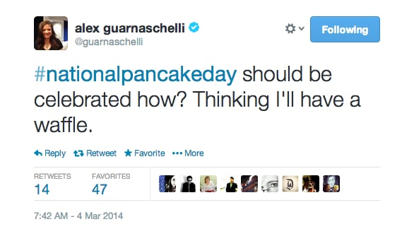 Pancakes? No Thanks