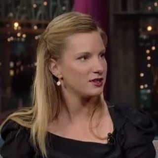 Heather Morris From Glee on David Letterman